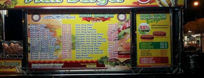 Man Burger Bali bali 77 is one of Burgers @ Penang.
