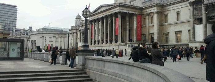 National Gallery is one of STA Travel London Art Galleries.
