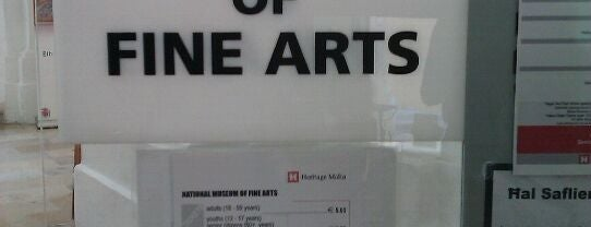 National Museum Of Fine Arts is one of Malta Cultural Spots.