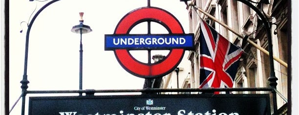 Westminster London Underground Station is one of M!.