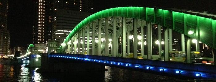Kachidoki-Bashi Bridge is one of 歴史(明治~).