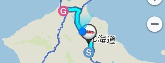 茶志内PA (上り) is one of 道央自動車道.