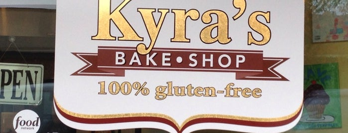 Kyra's Gluten Free Bake Shop is one of Favorites.