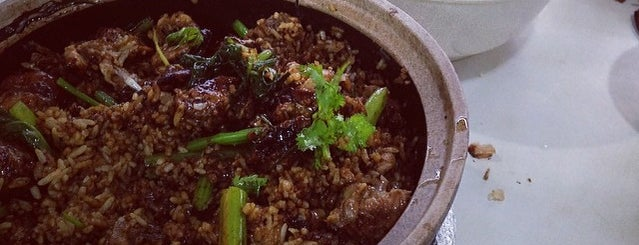 Tian Tian Xiang Claypot Rice 天天香砂锅饭 is one of Hole-in-the-Wall finds by ian thomtori.