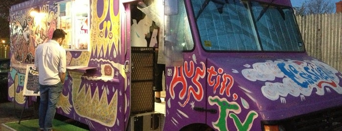 East Side King (at the Grackle) is one of Best ATX Food Trailers/Trucks.