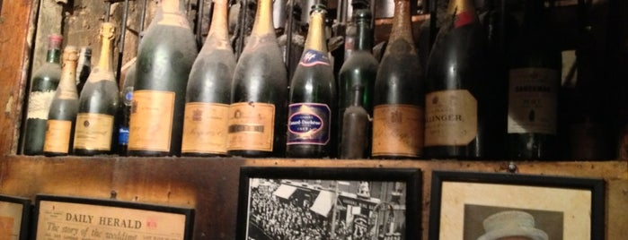 Gordon's Wine Bar is one of London Olympics: Where to Eat and Drink.