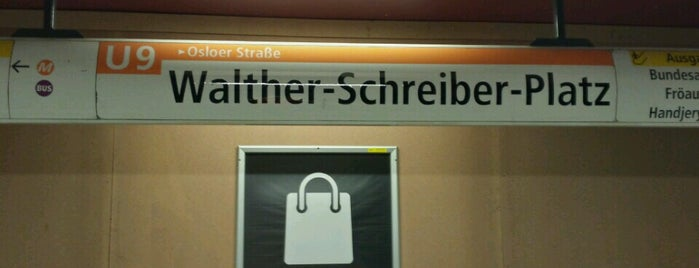U Walther-Schreiber-Platz is one of Besuchte Berliner Bahnhöfe.