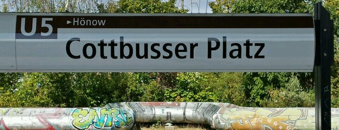 U Cottbusser Platz is one of U-Bahn Berlin.
