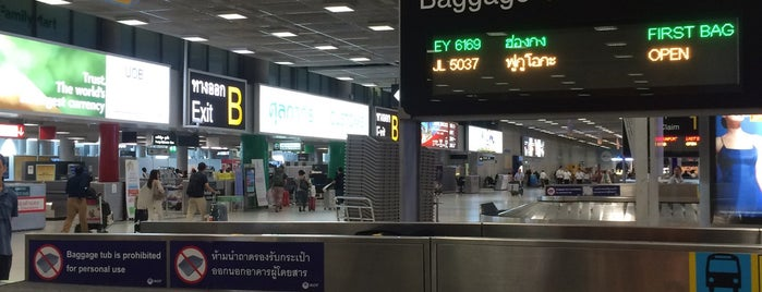 Baggage Claim 14 is one of TH-Airport-BKK-1.