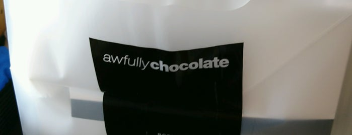 Awfully Chocolate is one of Desserts & Sweet Stuff.