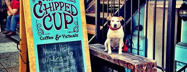 The Chipped Cup is one of Top picks for Coffee Shops.