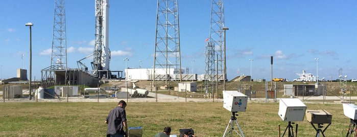Launch Complex 40 is one of NASA Locations Visited.