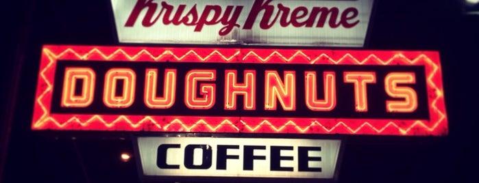 Krispy Kreme Doughnuts is one of Welcome to Raleighwood! #visitUS.