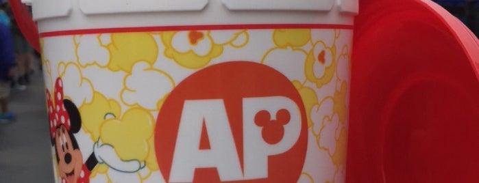 Tomorrowland Popcorn Cart is one of Disneyland Fun!!!.