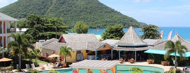 Bay Gardens Beach Resort & Spa is one of 36 hours in...St Lucia.