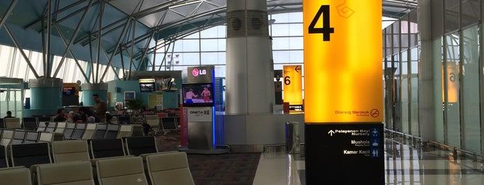 Zone 4 is one of Soekarno Hatta International Airport (CGK).