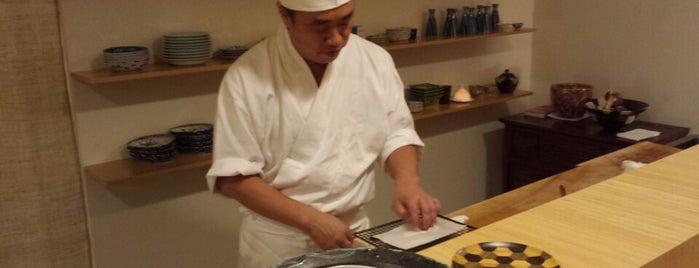 日本料理 かんだ is one of Michelin Guide Tokyo (ミシュラン東京) 2012 [***&**].