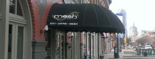 Mesh is one of In the neighborhood: IN.