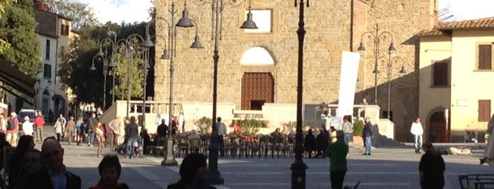 Piazza Sant'Agostino is one of Must-visit Great Outdoors in Arezzo.