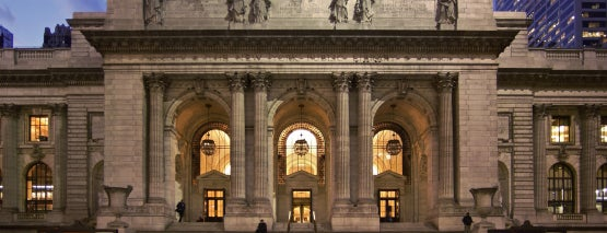 The New York Public Library Stephen A Schwarzman Building South Court Classrooms is one of NYC Stay-cation.