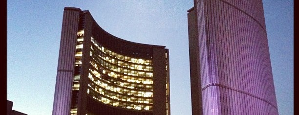 Toronto City Hall is one of This little Tee-Oh. Toronto #4sqCities.