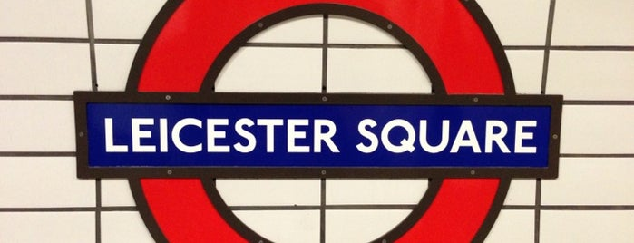Leicester Square London Underground Station is one of Zone 1 Tube Challenge.