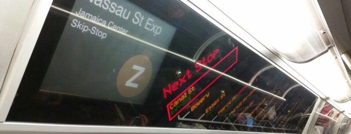 MTA Subway - Z Train is one of NY - MTA Subway Trains.