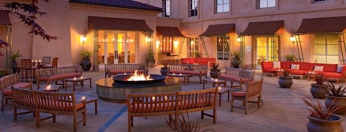 Hyatt Vineyard Creek Hotel and Spa is one of CVB Members.