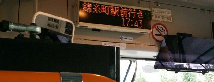 南千住駅東口 バス停 is one of 都営バス 南千47.