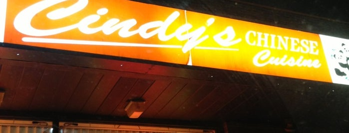 Cindy's Chinese Cusine is one of Favorite Chow Down Spots.