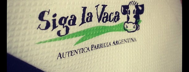Siga La Vaca Express is one of Favorite Food.
