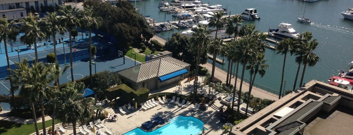 The Ritz-Carlton, Marina del Rey is one of MDR.