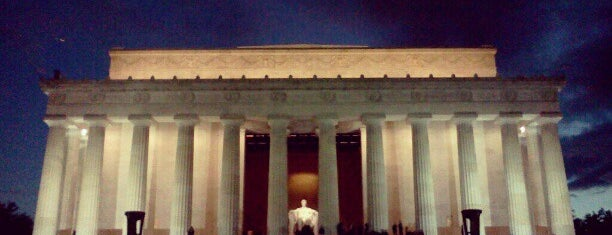 Lincoln Memorial is one of U2 North America.
