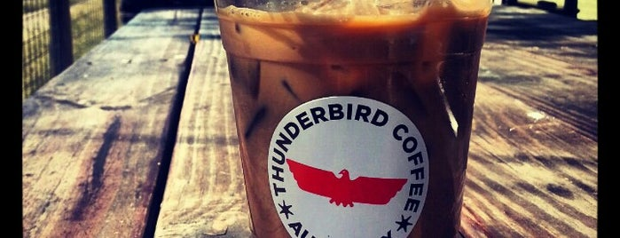 Thunderbird Coffee is one of Austin Freelance Work Spots.