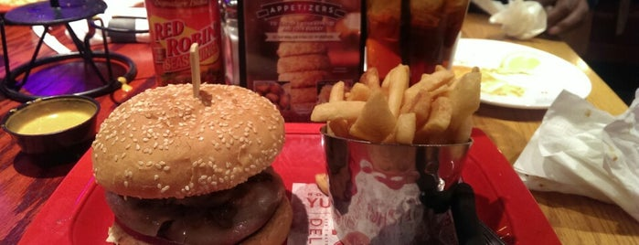 Red Robin Gourmet Burgers is one of Don't Like or Bad Service, ect....