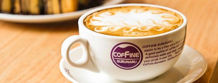 Coffine Gurunaru is one of 20 favorite restaurants.