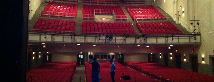 Page Auditorium is one of Triangle Theatres.