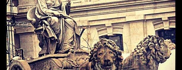 Fuente de La Cibeles is one of @ Madrid (MD, España).