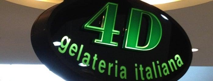 4D Gelateria Italiana is one of Gustavo.