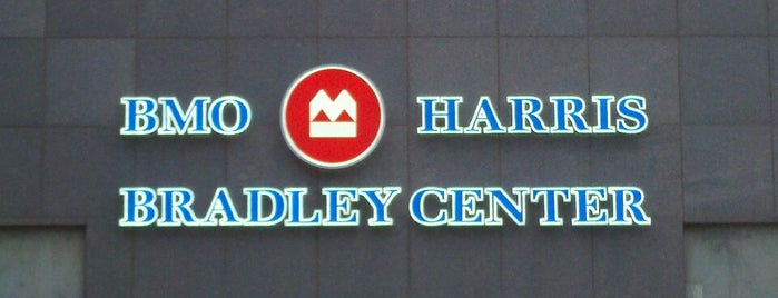 BMO Harris Bradley Center is one of JYM Hockey Arenas TOP100.