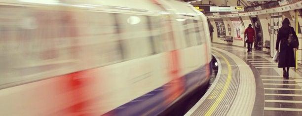Waterloo London Underground Station is one of Zone 1 Tube Challenge.