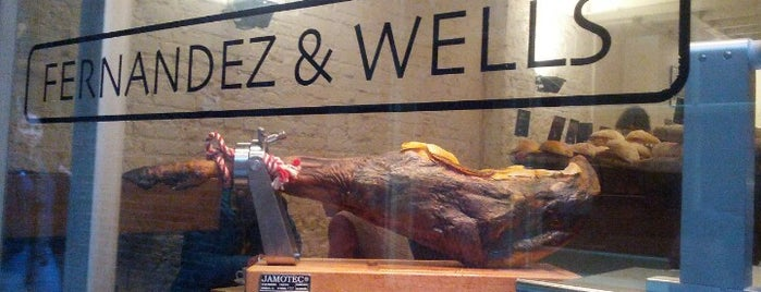 Fernandez & Wells is one of London Restaurants.