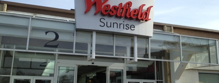 Westfield Sunrise is one of been here.