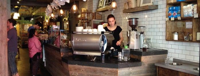 Nolita Mart & Espresso Bar is one of NYC caffeine fix..
