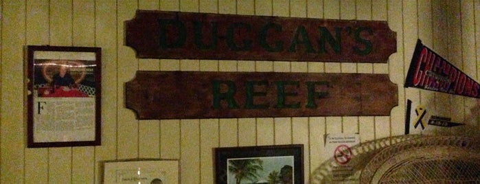 Duggan's Reef is one of Places to try.