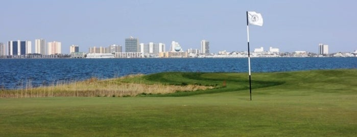Lighthouse Sound Golf Links is one of Golf at the beach in Ocean City, Md..