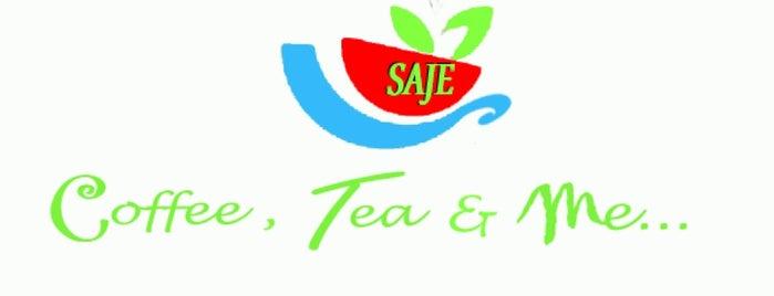 SAJE Coffee, Tea and Me is one of Coffee & Tea.