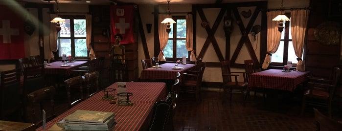 알트 스위스 샬레 (Alt Swiss Schallet) is one of Itaewon food.