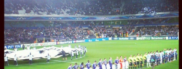 Stade Constant Vanden Stock Stadion is one of Jupiler Pro League and Belgacom League - 2013-2014.