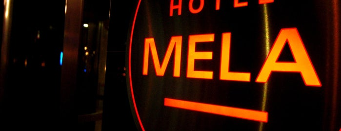 Hotel MELA is one of NY.